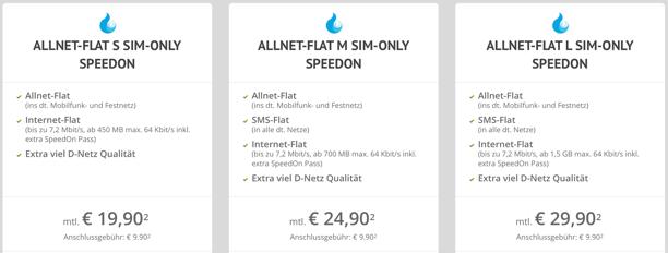 Die günstigste Allnet-Flat im D-Netz!