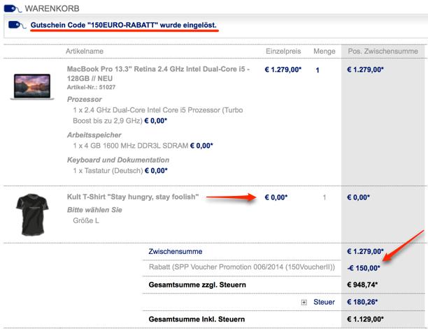 Bis zu 300 euro rabatt auf macbook air retina macbook pro for Wohnlandschaft bis 300 euro