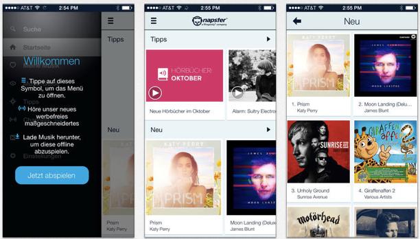 spotify offline musik durchsuchen napster mit musik tracking macerkopf. Black Bedroom Furniture Sets. Home Design Ideas