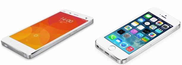 xiaomi vs iphone