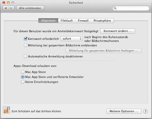 gatekeeper_systemeinstellungen