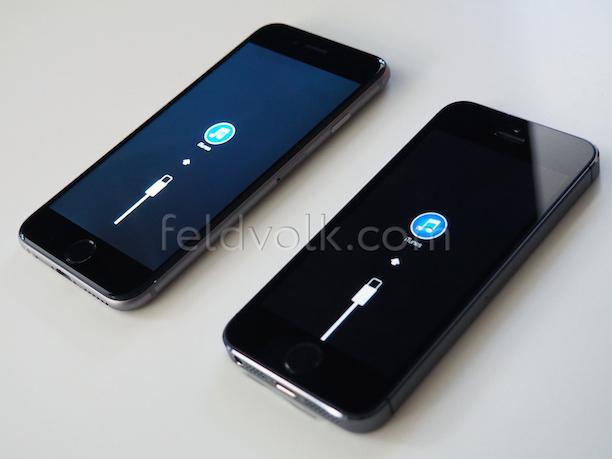 iphone 6 connect to itunes screen deutet auf 1334 x 750. Black Bedroom Furniture Sets. Home Design Ideas