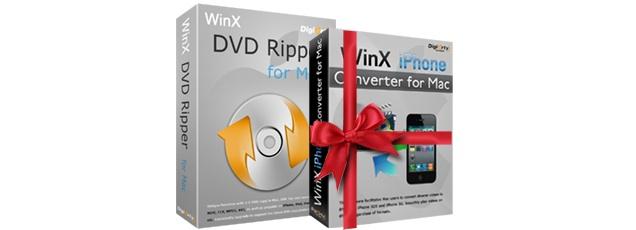 """Kostenlos abstauben """"WinX DVD Ripper for Mac"""""""