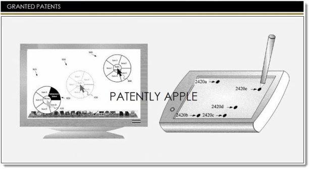 apple patent menü