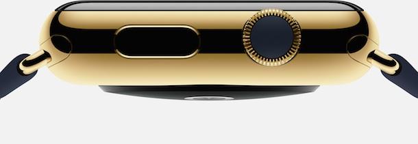 Apple Watch Edition. So sieht das goldene Modell aus