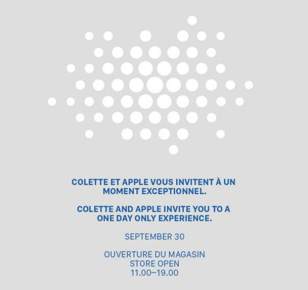 colette promotion apple