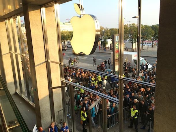 iPhone 6 Verkaufsstart in Hamburg