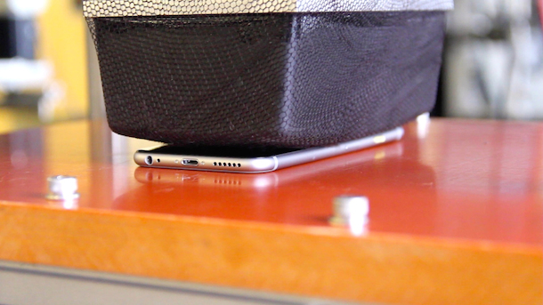iPhone 6 Testverfahren - Sitztest