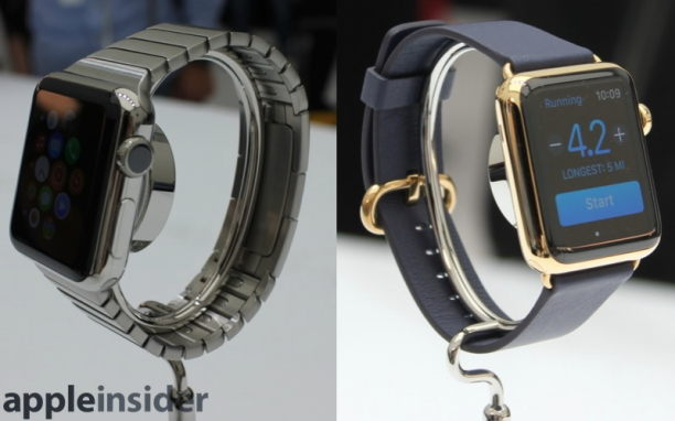 Apple Watch Ansichten