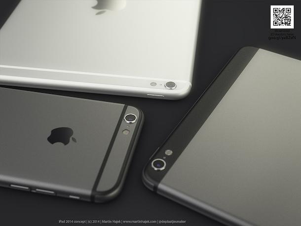 konzept ipad air 2 mit iphone 6 design macerkopf. Black Bedroom Furniture Sets. Home Design Ideas