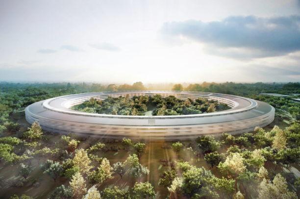 spaceship cupertino apple campus 2