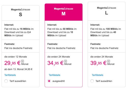 Magenta Zuhause Telekom Startet Neue Dsl Und Festnetz Tarife Macerkopf