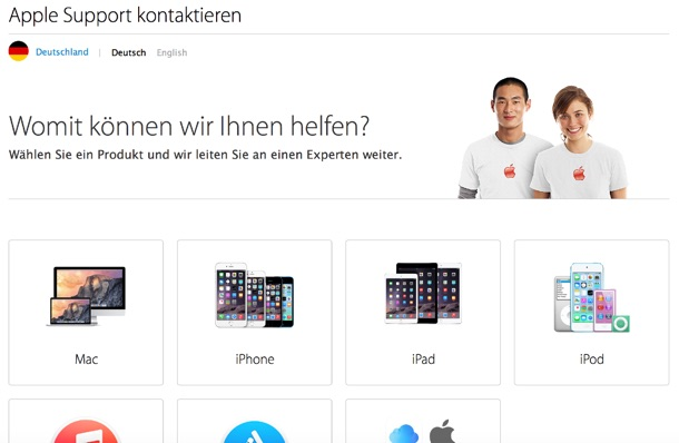 apple_support_webseite