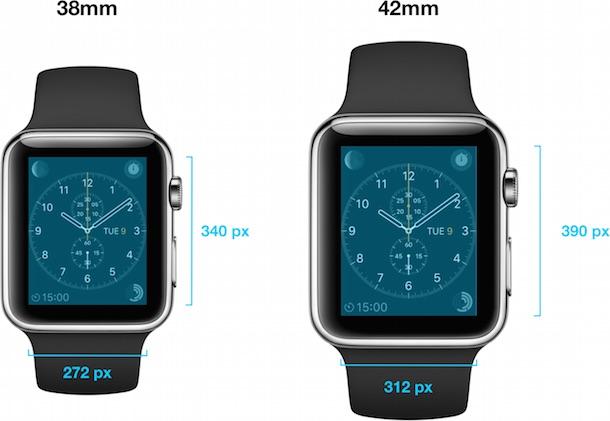 Apple Watch: Apple gibt Displayauflösung bekannt › Macerkopf