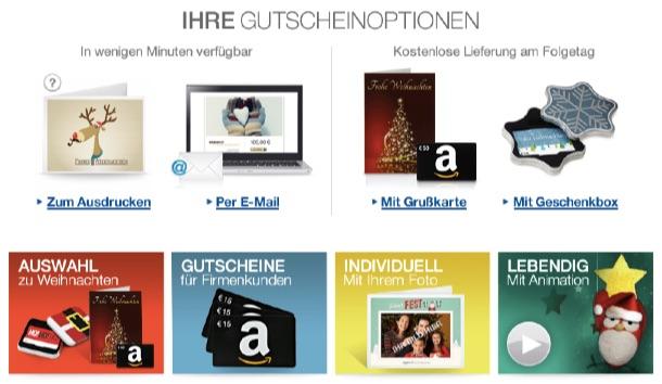 Amazon gutschein geschenkbox