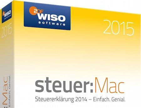 wiso steuer mac 2015 vor bergehend nur 24 99 euro macerkopf. Black Bedroom Furniture Sets. Home Design Ideas