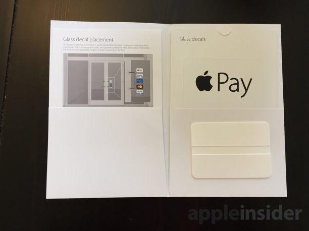 apple pay sticker