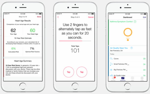 researchkit-interfac