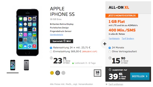 ALL ON XL ip5s