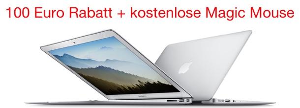 macbook air 2015 kaufen 100 euro rabatt magic mouse. Black Bedroom Furniture Sets. Home Design Ideas