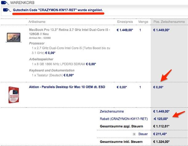 macbook pro imac und macbook air billiger kaufen bis zu. Black Bedroom Furniture Sets. Home Design Ideas