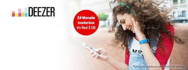 vodafone deezer musik flat kostenlos beim red 3gb tarif iphone 6 nur 19 90 euro macerkopf. Black Bedroom Furniture Sets. Home Design Ideas