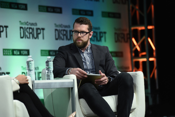 NEW YORK, NY - MAY 06:  Writer at TechCrunch, Darrell Etherington appear onstage during TechCrunch Disrupt NY 2015 - Day 3 at The Manhattan Center on May 6, 2015 in New York City.  (Photo by Noam Galai/Getty Images for TechCrunch)
