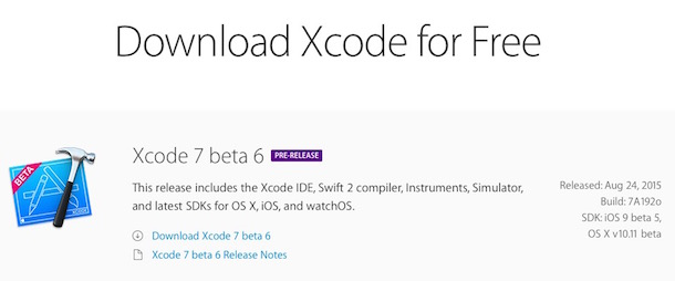 xcode7b6