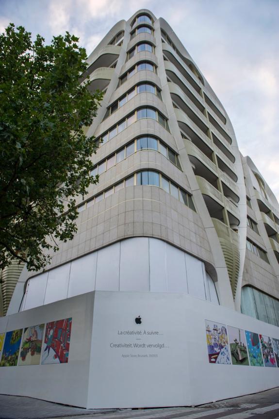 Apple_Store_Brüssel Front