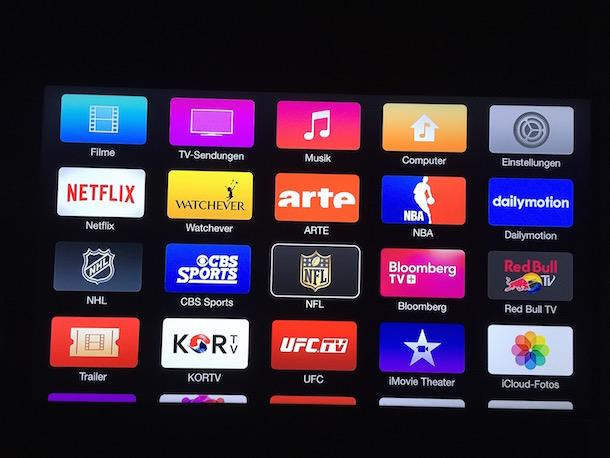 Mini Kühlschrank Nfl : Appletv update stellt nfl gamepass bereit u a macerkopf