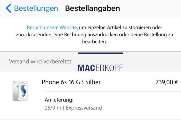 iphone6s_versand