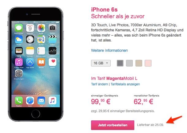 telekom_iphone6s_lieferzeit