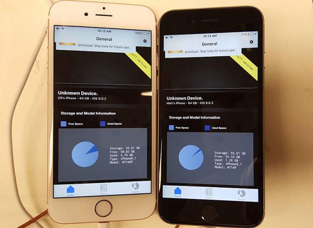 iphones im test