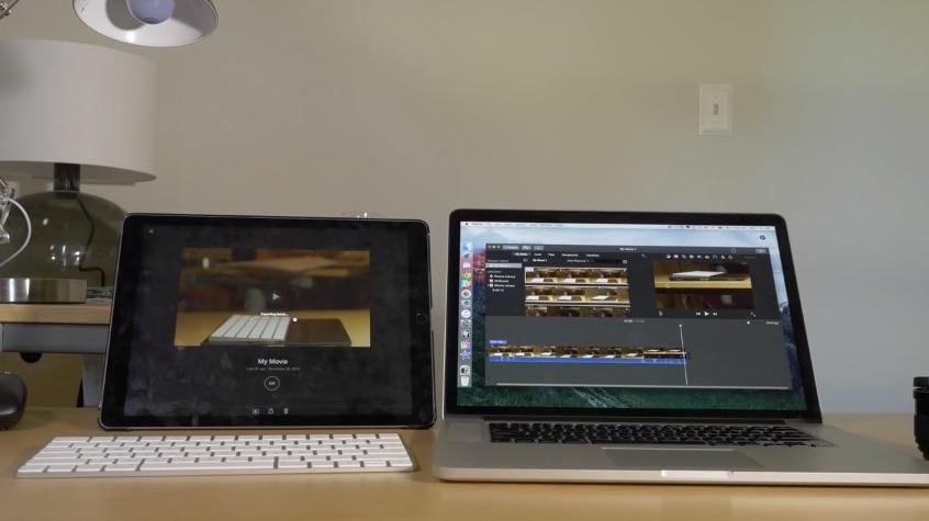 ipad pro vs macbook pro video zeigt 4k export macerkopf. Black Bedroom Furniture Sets. Home Design Ideas