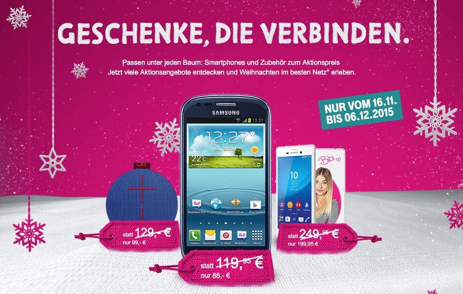 Telekom Aktion Geschenke Die Verbinden Rabatt Auf Iphone 6 Ipad