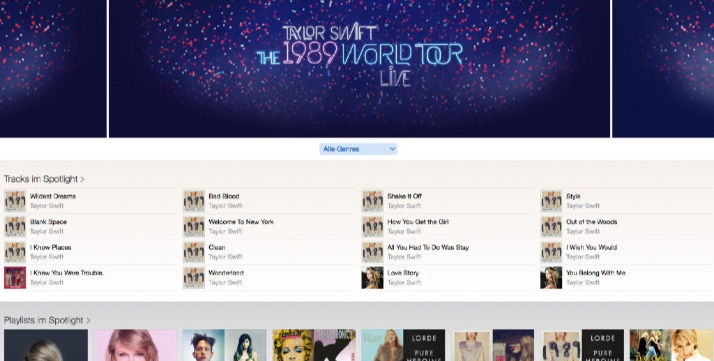 Taylor Swift  Live Tour Apple Music