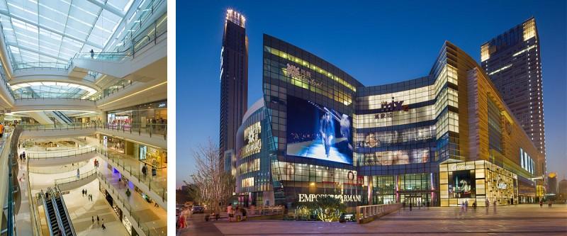 MixC shopping mall in Shenyang