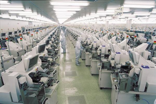 Produktionslinie bei Amkor Technologies