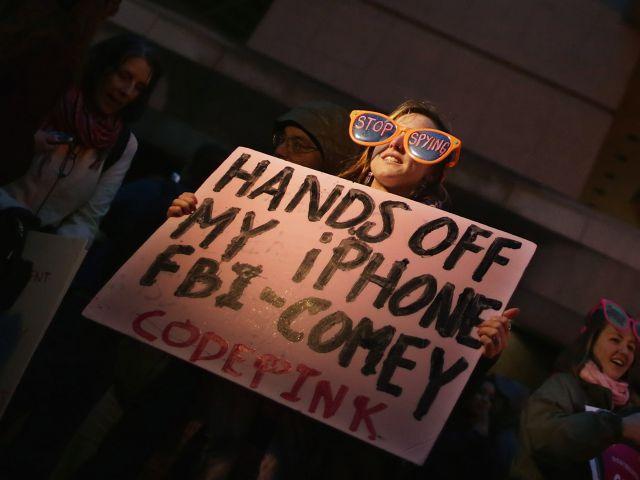 Apple FBI Protest
