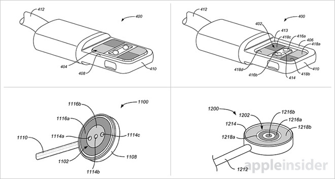 Apple patentiert stapelbare Smart Connector Stecker