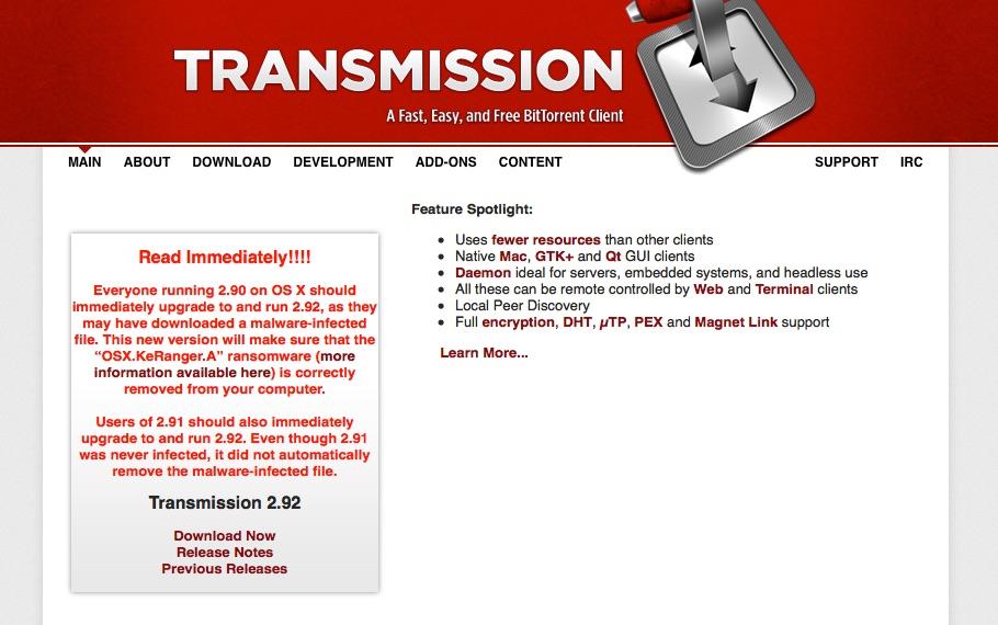 transmission_verseucht