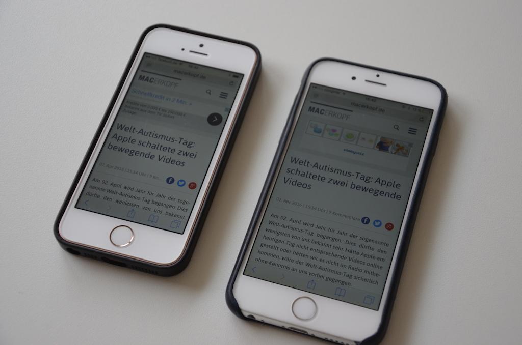 iPhone SE Test › Macerkopf