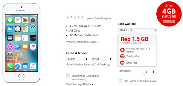 vodafone red1.5 student