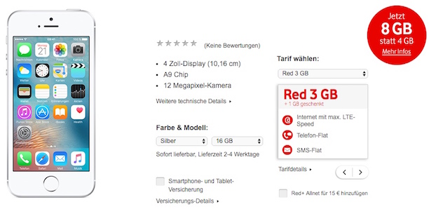 vodafone red3 student