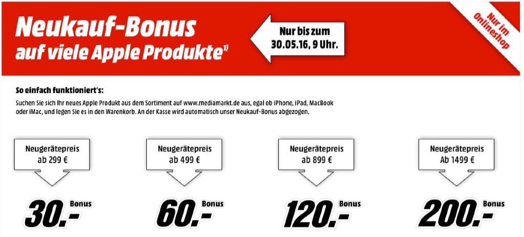 Media markt apple produkte mit bis zu 200 euro rabatt for Gebrauchte kuchen bis 200 euro
