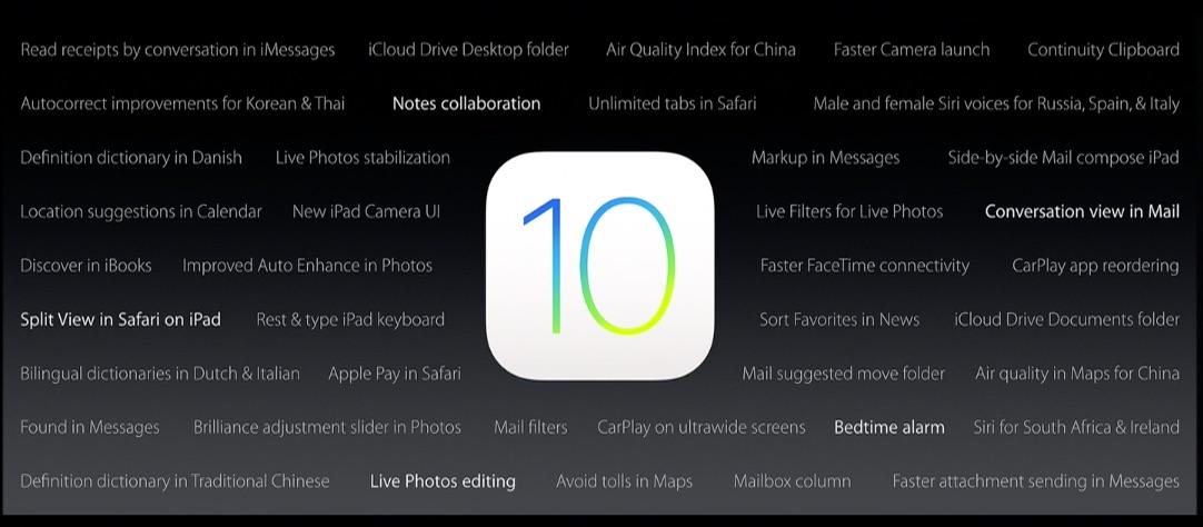 iOS 10: Diese 30 neuen Funktionen hat Apple gestern nicht erwähnt ...