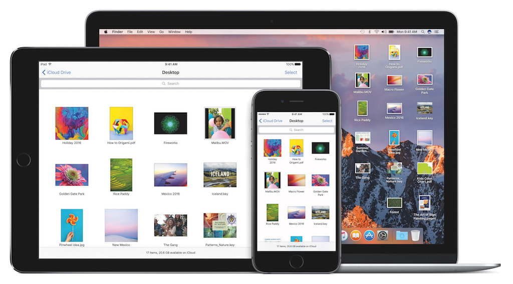 macOS Sierra Siri Desktop
