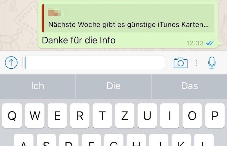 Whatsapp Nachrichten Können Ab Sofort Zitiert Werden