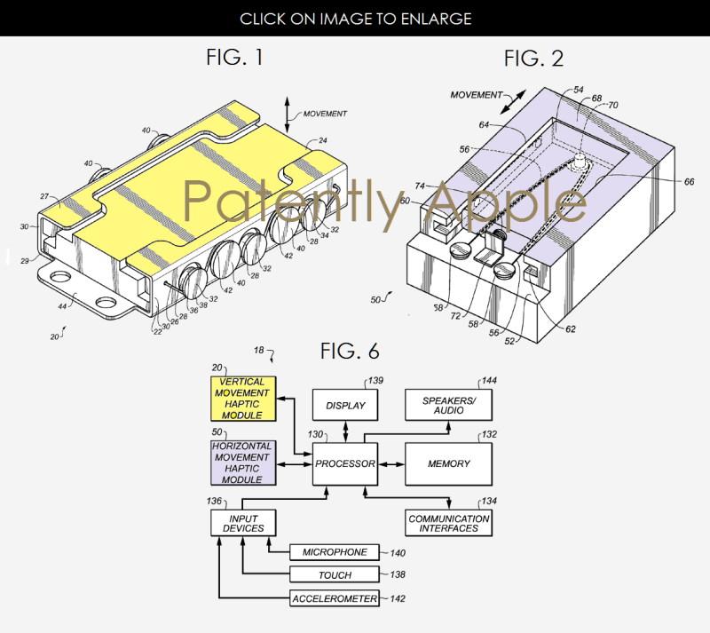 haptisches feedback patent