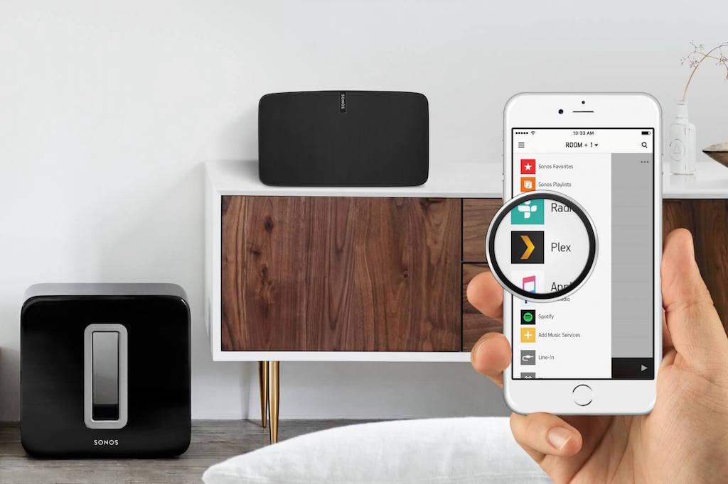 Sonos Medienserver